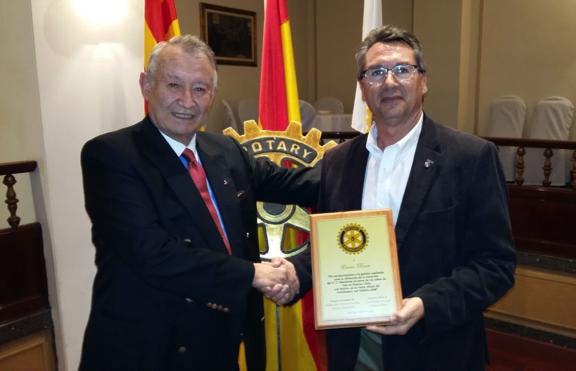 El Barça y los niños, reconocimiento de Rotary