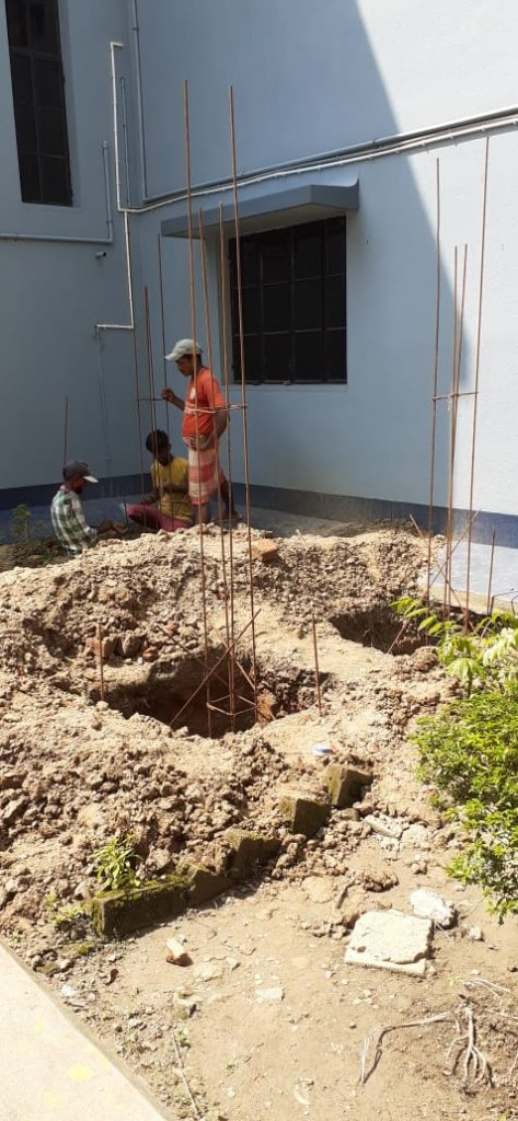 Albergue Bandel: depósito de agua fresca
